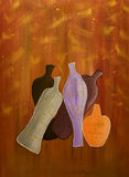 Wines. Original oil painting of the Stock Images