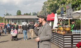Wines of Kyiv Food and Wine Festival in Kiev, Ukraine. Royalty Free Stock Photos