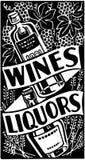 Wines And Liquors Stock Image