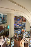 Wines and Spirits Duplex store at Singapore Changi Airport Royalty Free Stock Photo