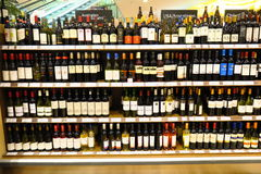 Wines Stock Image