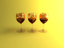 Wines of the world Royalty Free Stock Photography