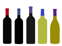 Wines of the World Stock Image