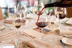 Winetasting Royalty-vrije Stock Foto's
