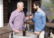 Winetasting Fotografering för Bildbyråer