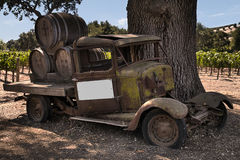 Winetruck los olivos Stock Images