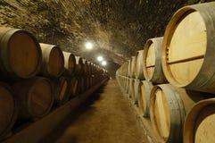 Winetrummor arkivfoto