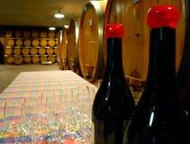 Wineyard cellar stock photography