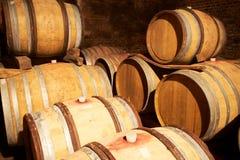 Wineyard Keller Lizenzfreie Stockbilder