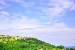 Wineyards in Toscanië, Italië Royalty-vrije Stock Foto's