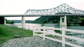 Winfield Bridge Arkivfoto