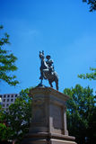 Winfield Scott Hancock Statue Royalty-vrije Stock Foto