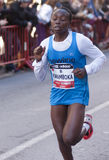 Winfrida Kwamboka, Mitja Marato Granollers Images libres de droits
