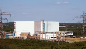 Winfrith Nuclear Power Station Royalty Free Stock Photos