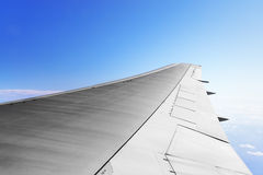 Wing aircraft Royalty Free Stock Images