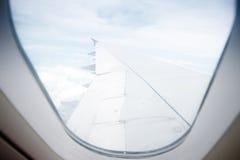 Wing aircraft Royalty Free Stock Photos
