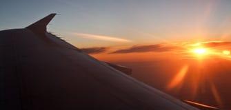 Wing aircraft Stock Photo