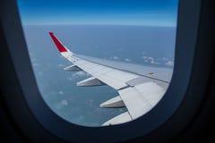 Wing Airplane Foto de archivo libre de regalías
