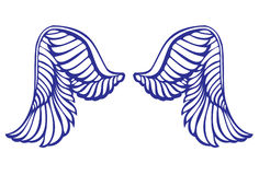 Wing of the angel Royalty Free Stock Photos