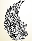 Wing of an Angel. This image is a vector illustration and can be scaled to any size without loss of resolution. This image will download as a .eps file. You will Stock Image