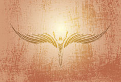Wing angel Stock Photo