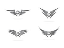 Wing art Stock Image