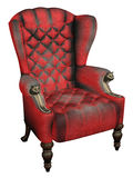 Wing Back Chair royal Photographie stock