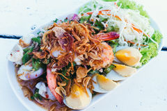 Wing Bean Salad tailandese Immagine Stock Libera da Diritti