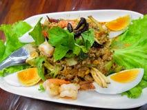 Wing Bean Shrimp Salad Fotografia de Stock