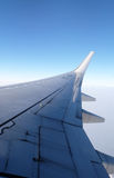 Wing of Boeing 737 airplane Royalty Free Stock Images