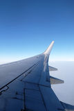 Wing of Boeing 737 airplane Royalty Free Stock Image