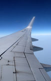 Wing of Boeing 737 airplane Royalty Free Stock Photos