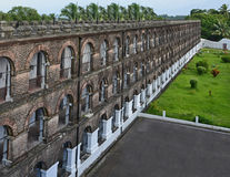 A wing Cellular jail at Port Blair, India Stock Photo