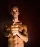 Wing chun kung fu stock photo