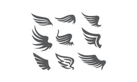 Wing Collection Set. Logo Design Template Vector Stock Images