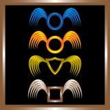 Wing Concept For Logo Design Fotografía de archivo libre de regalías