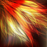 Wing fire abatract Royalty Free Stock Images