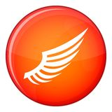 Wing icon, flat style Stock Images