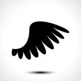 Wing icon isolated on white background Stock Image