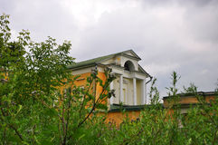 Wing of Ivanovskoe estate in Podolsk, Moscow region, Russia Stock Photos