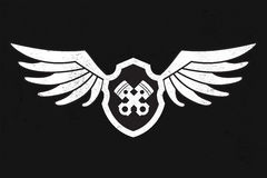 Wing Logo automobilistico royalty illustrazione gratis