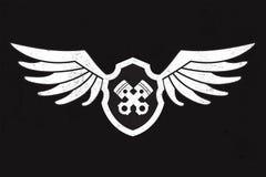 Wing Logo automotriz Fotos de archivo libres de regalías