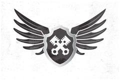 Wing Logo automotriz Imágenes de archivo libres de regalías