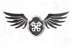 Wing Logo automotriz Imagenes de archivo