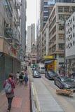 Wing Lok Street arkivbilder