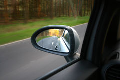 Wing mirror Stock Image