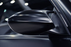 Wing mirror of a sports car Stock Photography