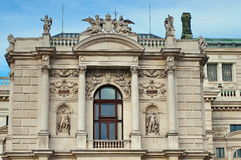 Wing of the National Theater in Vienna Stock Image