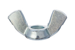 Wing Nut with clipping path Royalty Free Stock Image