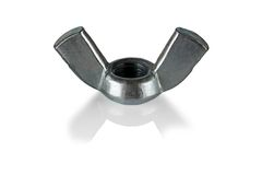 Wing nut. Royalty Free Stock Photo